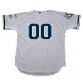 Yankees 2009 World Series Road Jersey With Both Patches and Numbers