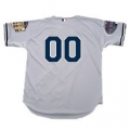 Yankees Road Authentic Jersey With 2008 Final Season Patch All Star Patch and Numbers