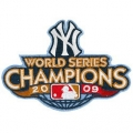 2009 Yankees World Series Champions Patch