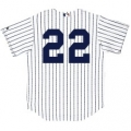 Kids Yankee Jerseys Customized Home Authentics With Numbers Only