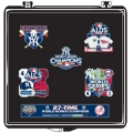 Yankees 27 Time World Series Champions Pin Set Limited Edition of 5000 set