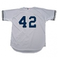 Road Grey Authentic Yankee Jerseys - With Numbers