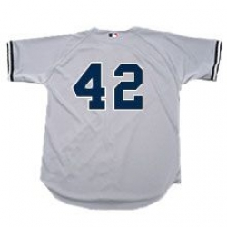 hot sale online 5f068 9250d Road Grey Authentic Yankee Jerseys - With Numbers