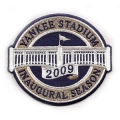2009 Yankee Stadium Inaugural Season Patch