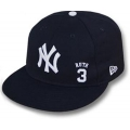 26 Babe Ruth # 3 Fitted Cap