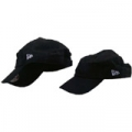 20 Cotton Black Low Crown Adjustable Cap