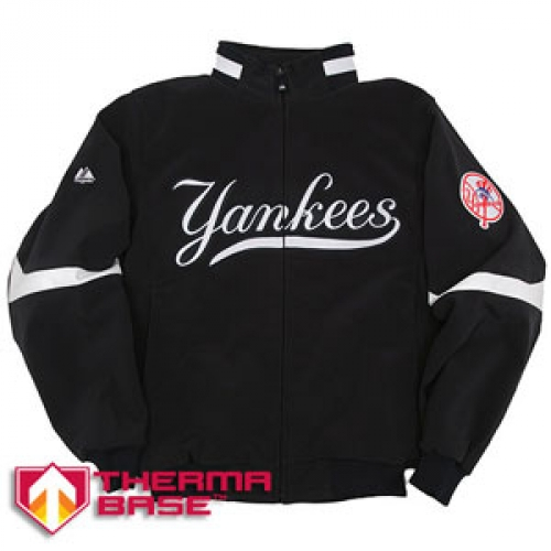 brand new 0c65e a5c83 03 Youth Yankee Thema Base Home Jackets