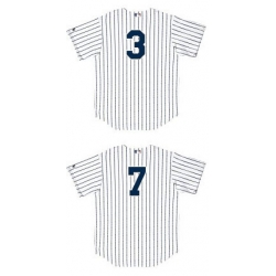 Customized Kids Yankee Jerseys with Player Numbers Only