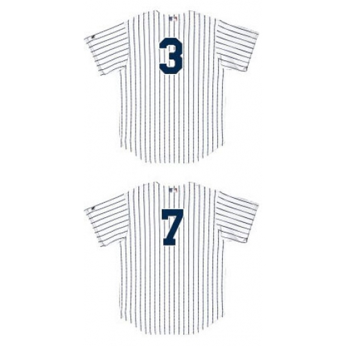 Customized Kids Yankee Jerseys with Player Numbers Only 983f0077203