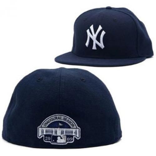 02 2009 Yankees Inaugural Season Fitted Cap
