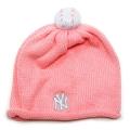 32 Yankees infant size Pink Pom Pom Ski cap