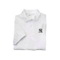 11 Yankee Jerseys 100 % Pique Cotton Golf Shirt NY logo