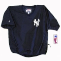 Adult Yankee Short Sleeve Batting Practice Jacket