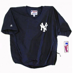 Adult Yankee Short Sleeve Batting Practice Jacket