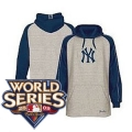 027 Style 1 Yankees Hood with 2009 World Series Patch Gray & Navy Sleeves