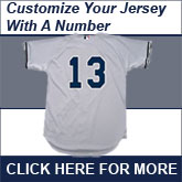 Customize your jersery with a number